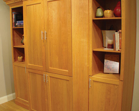 Examples Of Living Room Cabinet Installation Projects.